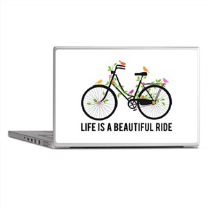 Life is a beautiful ride Laptop Skins