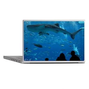 Whale Shark 16 x 20 Print Laptop Skins