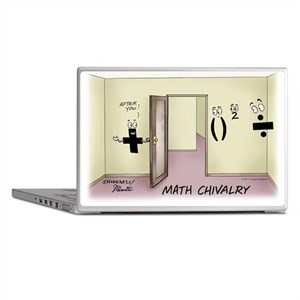 Pi_68 Math Chivalry (20x16 Color) Laptop Skins