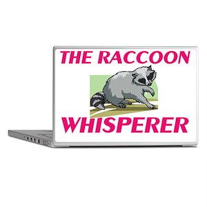 The Raccoon Whisperer Laptop Skins