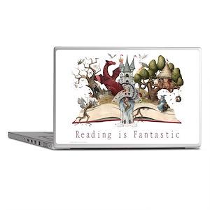 Reading is Fantastic II Laptop Skins