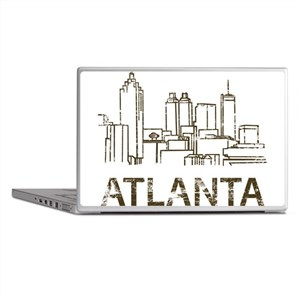 Vintage Atlanta Laptop Skins