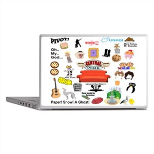 friendstv Collage Laptop Skins