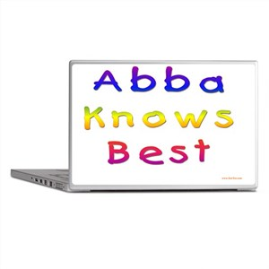 Abba Knows Best Laptop Skins