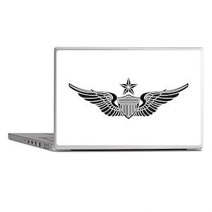 Aviator - Senior B-W Laptop Skins