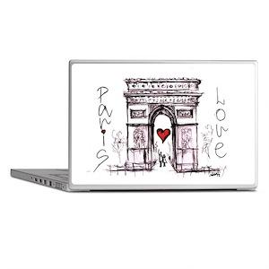 Paris with love  Laptop Skins