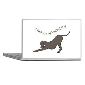 Downward Dog Laptop Skins