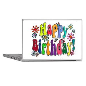 Happy Birthday Laptop Skins