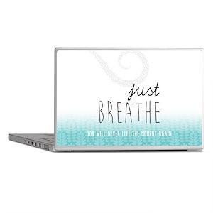 Just Breathe Laptop Skins