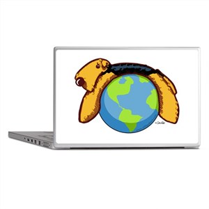 Airedale World Laptop Skins