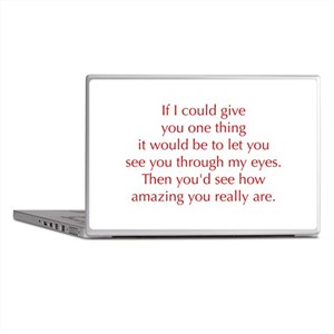 if-I-could-give-you-one-thing-opt-red Laptop Skins