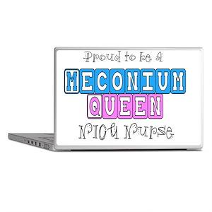 Meconium Queen NICU NURSE Laptop Skins