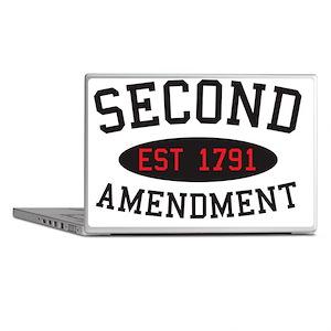 Second Amendment, Est. 1791 Laptop Skins