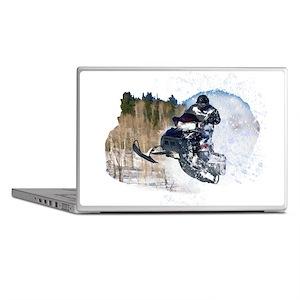 Airborne Snowmobile Laptop Skins