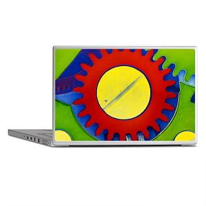 False-colour SEM of the crown wheel o Laptop Skins