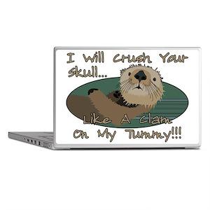 Otter Skull Crush Laptop Skins