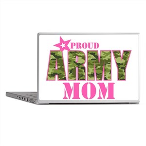 Camo Proud Army Mom Laptop Skins