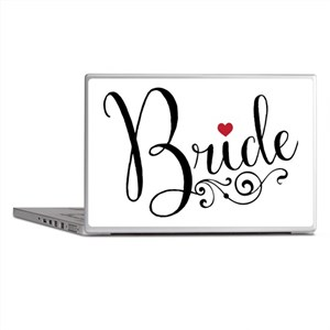 Elegant Bride Laptop Skins