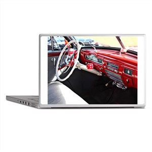 Classic car dashboard Laptop Skins