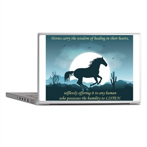 The Wisdom of Horses Laptop Skins