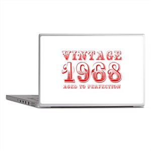 VINTAGE 1968 aged to perfection-red 400 Laptop Ski