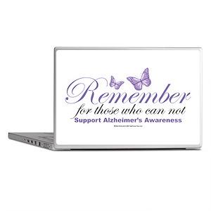 Remember Alzheimer's Laptop Skins