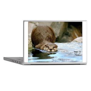 River Otter (Gone Fishin') Laptop Skins