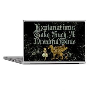 alice-explanations_9x12 Laptop Skins
