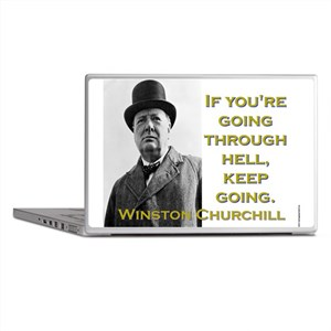 If Youre Going Through Hell - Churchill Laptop Ski