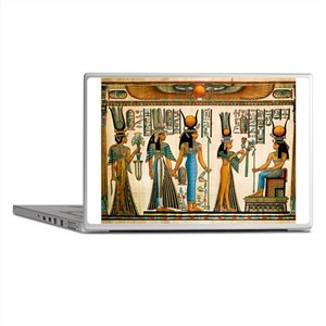 Ancient Egyptian Wall Tapestry Laptop Skins