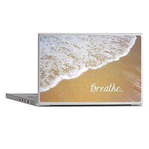 Just Breathe... Laptop Skins