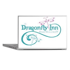 dragonflyinn distressed Laptop Skins