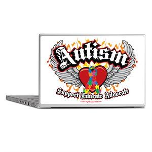 Autism Wings Laptop Skins