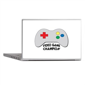 Video Game Champion Laptop Skins