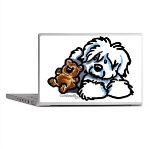 Coton Teddy Laptop Skins