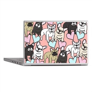 French Bulldogs Laptop Skins