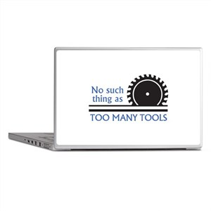 TOO MANY TOOLS Laptop Skins
