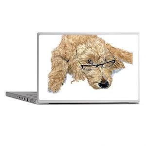 Goldendoodle Stella Laptop Skins