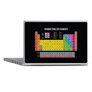Periodic Table Of Elements Laptop Skins