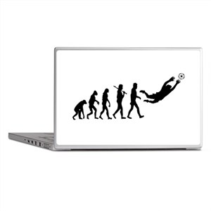Soccer Goalie Evolution Laptop Skins