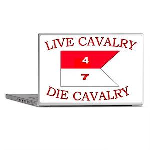 4th Squadron 7th Cavalry cap4 Laptop Skins