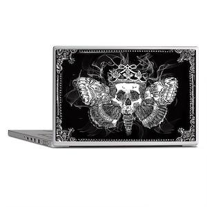 vintage mothman skull Laptop Skins