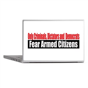 They Fear Armed Citizens Laptop Skins