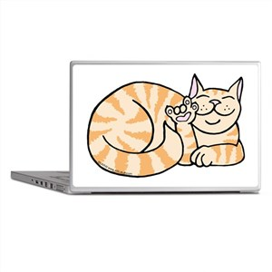 OrangeTabby ASL Kitty Laptop Skins