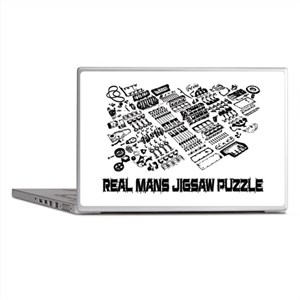 Real mans puzzle-small block V8 Laptop Skins