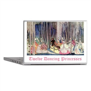 Twelve Dancing Princesses Laptop Skins