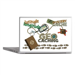 Geocache Fever Laptop Skins
