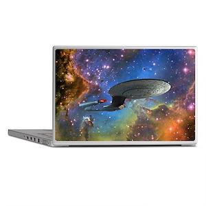 STARTREK 1701D EAGLE NEBULA Laptop Skins