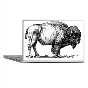 Buffalo/Bison Shirt Laptop Skins