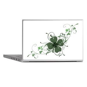 Elegant Shamrock Laptop Skins